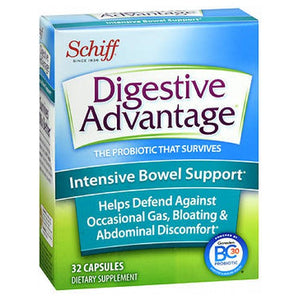Digestive Advantage Intensive Bowel Support 96 caps by Schiff/Bio Foods (2587964440661)