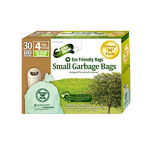 Garbage Bags Small 4 Gallons Size 30 Count by Green N Pack (2587964735573)
