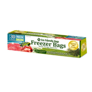 Freezer Bags with Zipper Gallon Size 30 ct by Green N Pack (2587964801109)