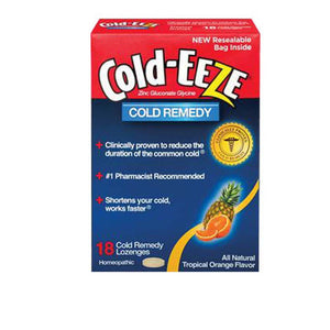 Cold-EEZE Lozenges Tropical Fruit 18 ct by Cold-Eeze