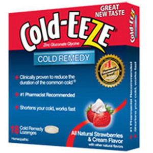 Cold-EEZE Lozenges Strawberry Cream 18 ct by Cold-Eeze