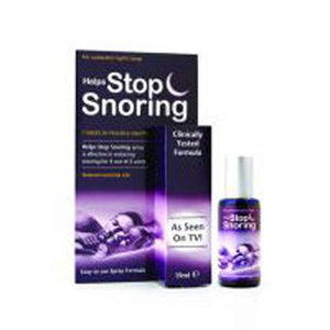 Helps Stop Snoring Spray 2 OZ by Essential Health Products (2584252874837)