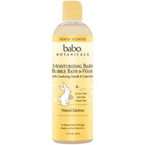 Replenishment Bubble Bath and Wash 15 oz by Babo Botanicals (2587602354261)