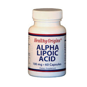 Alpha Lipoic Acid 60 Caps by Healthy Origins (2588846522453)