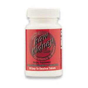 Raw Kidney 60 Tabs by Ultra Glandulars (2584126849109)