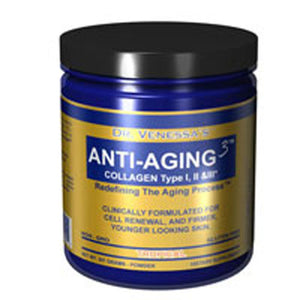 Anti Aging 3 Collagen Tropical 300G by Dr. Venessa's Formulas