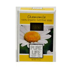 Bar Soap Chamomile 4.4 Oz by Pure Life Soap Co (2588992766037)