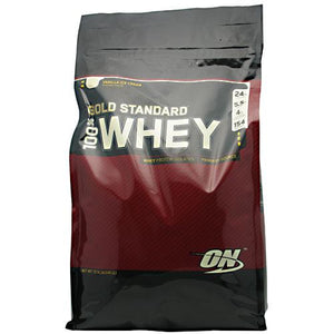 100% Whey Gold Vanilla 10.35 lb by Optimum Nutrition (2584250908757)