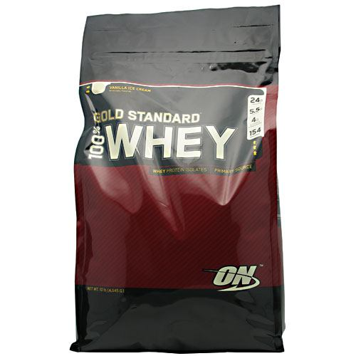 100% Whey Gold Vanilla 10.35 lb by Optimum Nutrition