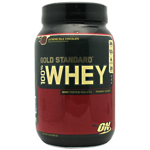 100% Whey Gold Extreme Chocolate 2.0 lb by Optimum Nutrition