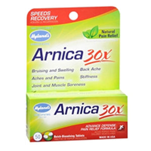 Hylands Arnica 30X 50 tabs by Hylands