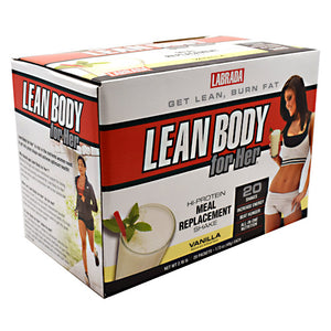 Lean Body For Her Vanilla 20 CT by LABRADA NUTRITION (2584253071445)
