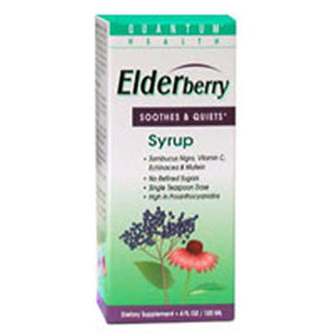 Elderberry C-Syrup 4 FL Oz by Quantum Health