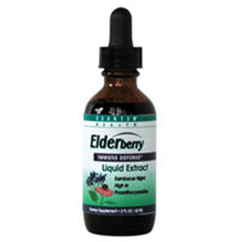 Elderberry Liquid Extract 2 FL Oz by Quantum Health