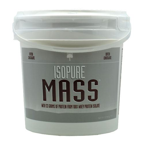 Isopure Mass Vanilla 7.0 lb by Nature's Best