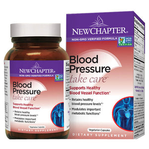 Blood Pressure Take Care 60 Vcaps by New Chapter (2587271594069)