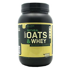 100% Natural Oats & Whey Vanilla Bean 3 lb by Optimum Nutrition (2587275034709)