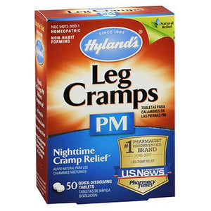 Leg Cramps PM 50 Tablets by Hylands