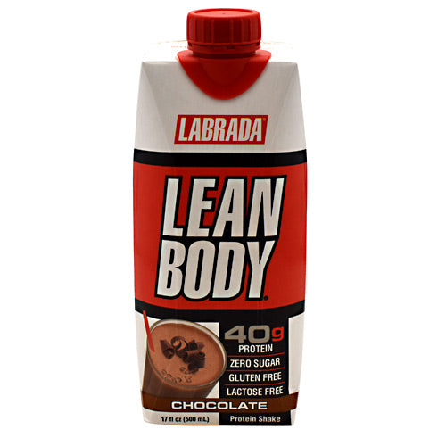 Lean Body On the Go Shake Chocolate Ice Cream 12/14 oz by LABRADA NUTRITION