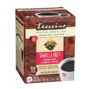 Herbal Coffee Tee-Bags Vanilla Nut 10ct by Teeccino