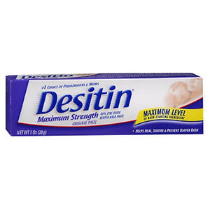 Desitin Maximum Strength Diaper Rash Paste 1 oz by Desitin