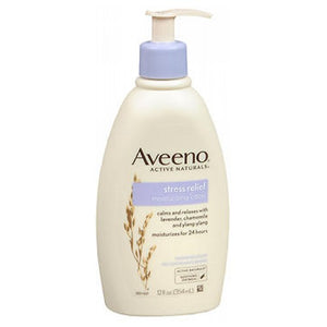 Aveeno Active Naturals Stress Relief Moisturizing Lotion 12 oz by Aveeno (2587421278293)