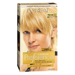 LOreal Superior Preference Hair Color Lightest Natural Blonde 1 each by L'oreal (2587421999189)