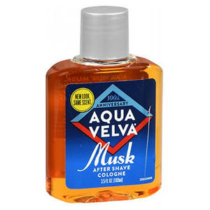 Aqua Velva Musk After Shave Cologne 3.5 oz by Aqua Velva (2587422851157)
