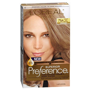 LOreal Superior Preference Hair Color Medium Ash Blonde 1 each by L'oreal (2587423146069)