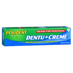 Polident Dentu-Creme 3.9 oz by Polident (2587426619477)