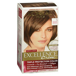 LOreal Excellence Creme Medium Brown 1 each by L'oreal (2587968798805)