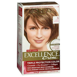 LOreal Excellence Creme Light Brown 1 each by L'oreal (2587968929877)