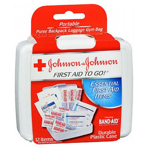 Johnson & Johnson First Aid To Go Mini Kit 1 each by Johnson & Johnson (2587426914389)