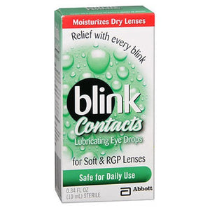 Blink Contacts Lubricating Eye Drops 10 ml by Blink (2587428946005)