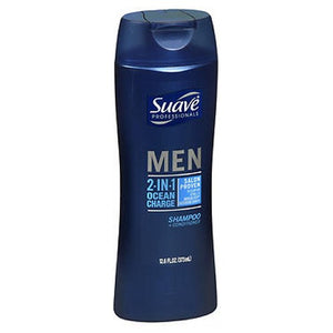 Suave 2 In 1 Shampoo+Conditioner For Men 14.5 Oz by Suave (2587969650773)