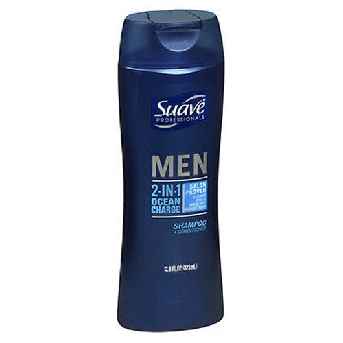 Suave 2 In 1 Shampoo+Conditioner For Men 14.5 Oz by Suave