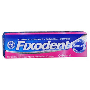 Fixodent Denture Adhesive Cream Original 1.4 Oz by Fixodent (2587431862357)