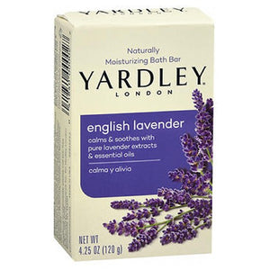 Yardley London Naturally Moisturizing Bar Soap English Lavender 4.25 oz by Yardley (2587432484949)