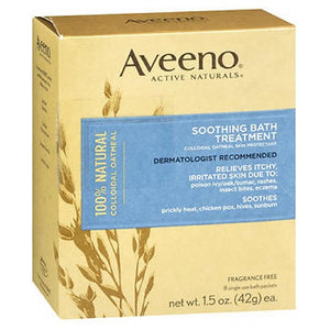 Aveeno Active Naturals Soothing Bath Treatment Packets 8 each by Aveeno (2587432550485)
