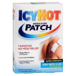 Icy Hot Hot Medicated Patches Extra Strength Small 5 each by Act (2587435827285)