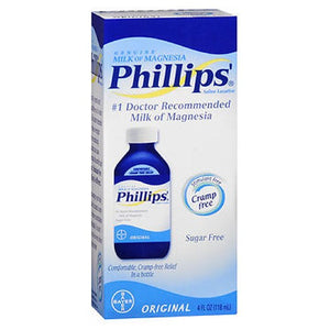 Bayer Phillips Milk Of Magnesia Saline Laxative Original 4 oz by Bayer (2587973091413)