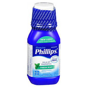 Bayer Phillips Milk Of Magnesia Fresh mint 12 oz by Bayer