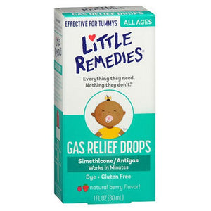 Little Remedies Little Tummys Gas Relief Drops Natural Berry Flavor 1 oz by Little Remedies