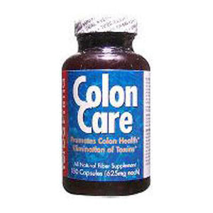 Colon Care Formula 180 Caps by Yerba Prima (2584021762133)