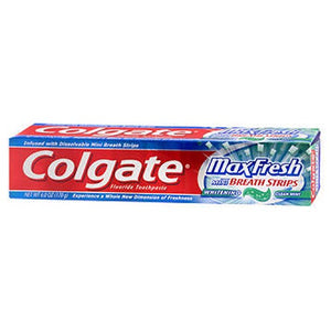 Colgate Max Fresh Whitening Toothpaste Clean Mint 6 oz by Colgate (2587973714005)