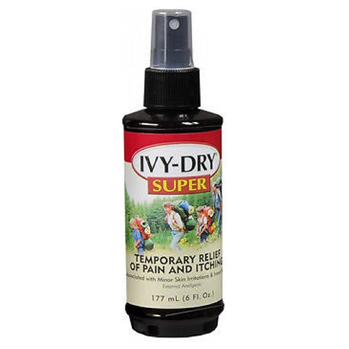 Ivy-Dry Super Itch Spray 6 oz by Ivy-Dry