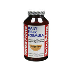 Daily Fiber Formula Orange Powder 16 Oz by Yerba Prima