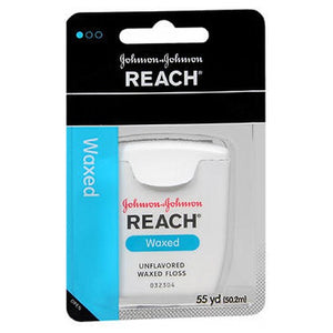 Johnson & Johnson Reach Dental Floss Waxed-Unflavored 1 each by Johnson & Johnson (2587440382037)
