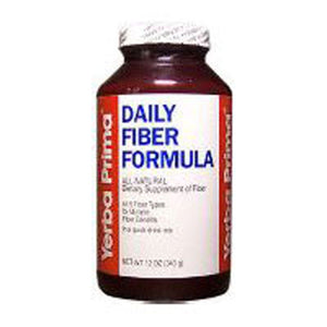 Daily Fiber Formula Regular Powder 12 Oz by Yerba Prima
