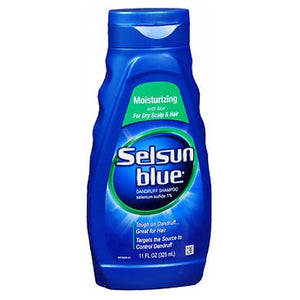 Selsun Blue Moisturizing Dandruff Shampoo 11 oz by Act (2587440808021)